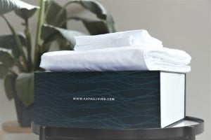 Fitted sheet set 100% cotton with box Malaysia