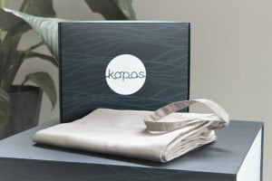 Stone bolster case with Kapas packaging Malaysia